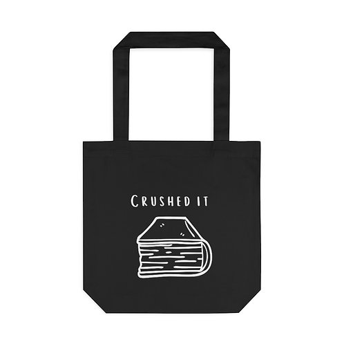 Crushed It Cotton Tote Bag