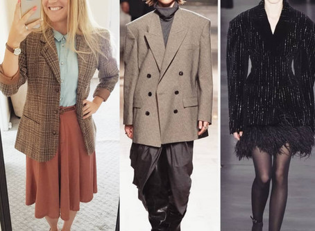 #FashionFuel  Trend Alert!! 80s Power Shoulders are BACK!!