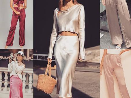 #FashionFuel  Trend Alert!! SATIN'S Comeback