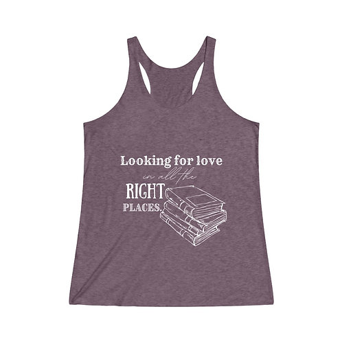 Looking For Love Racerback Tank