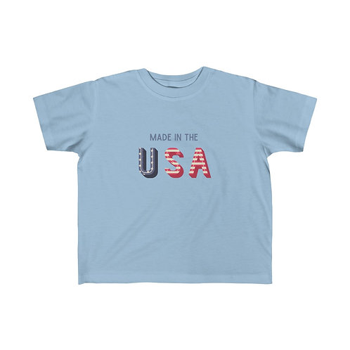Made in the USA Toddler Tee