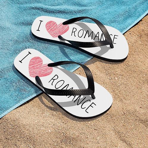 I Heart Romance Flip-Flops