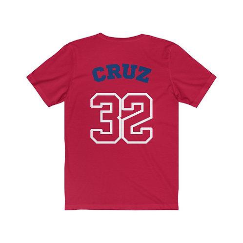 Parker Fan Girl Jersey Tee-Red
