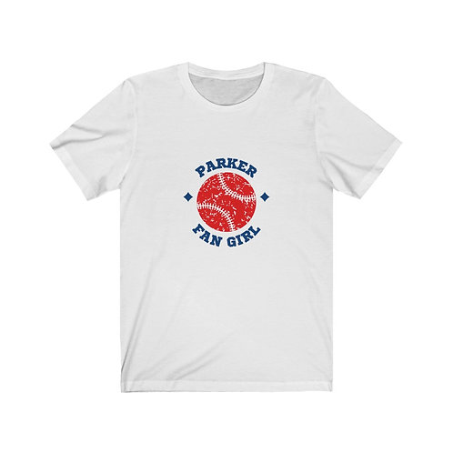 Parker Fan Girl Jersey Tee-White