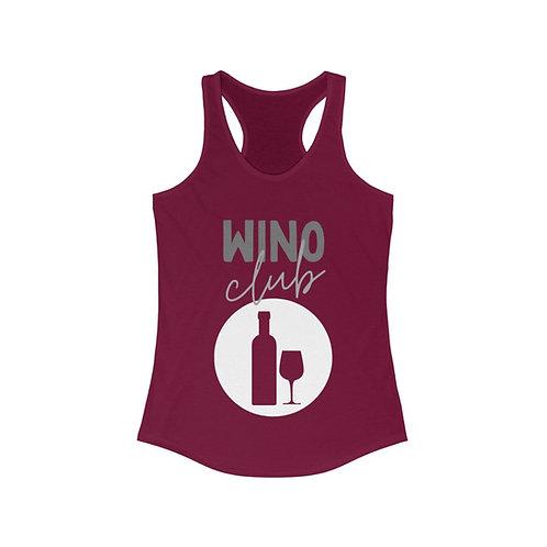 Wino Club Racerback Tank