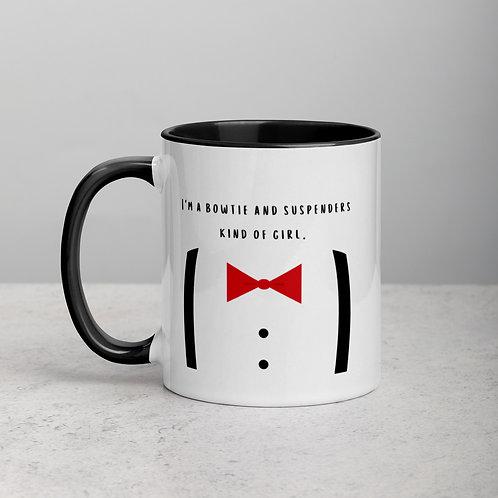 Bowtie and Suspenders Mug