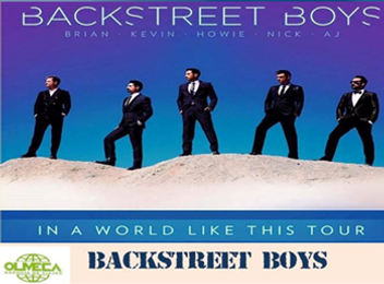Backstreet Boys - Viajes Olmeca