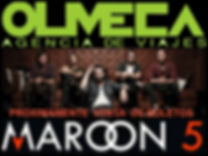Maroon 5 - Viajes Olmeca
