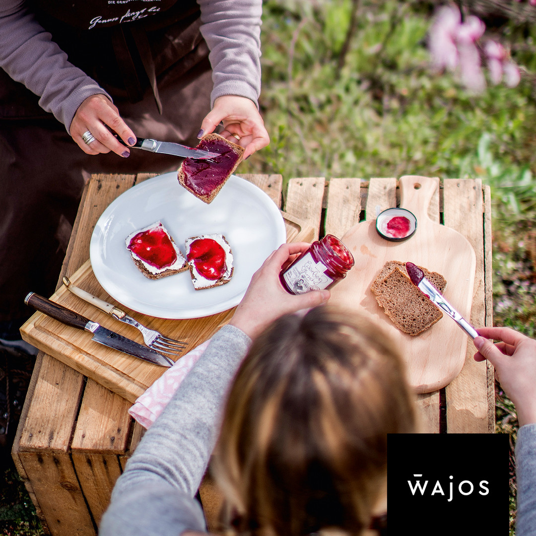 Roter-Wereinbergpfirsich Fruchtaufstrich