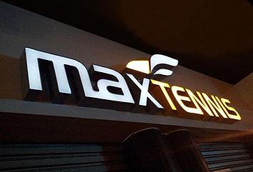 Letreiro Max