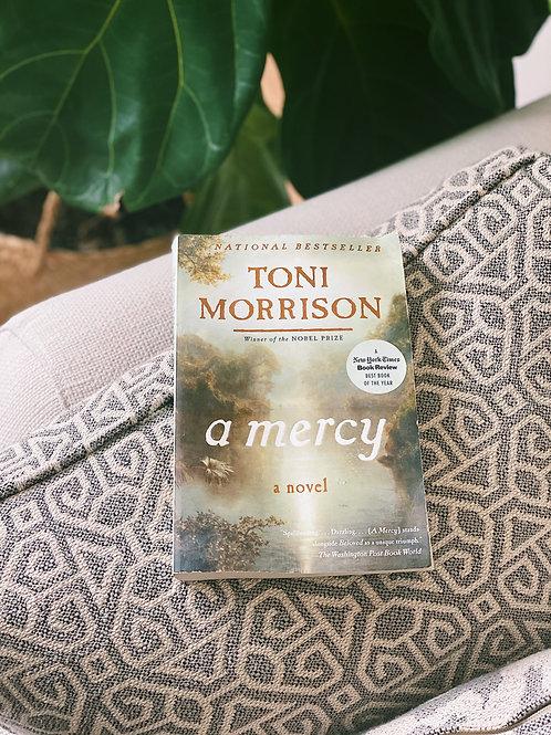 """A Mercy"" by Toni Morrison Paperback"