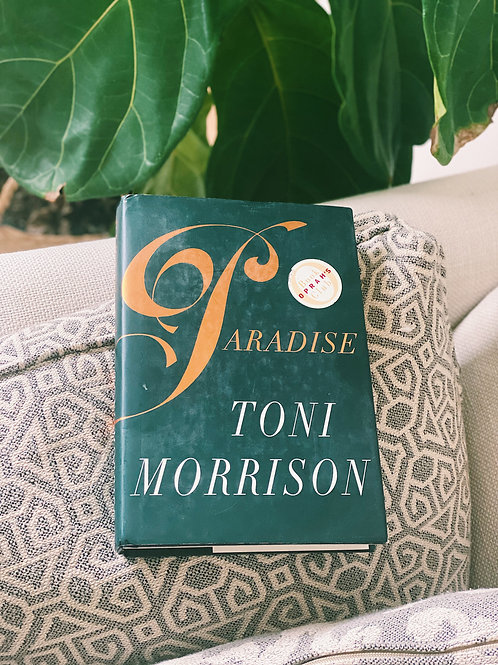 """Paradise"" by Toni Morrison (Fourth Printing Hard Cover)"
