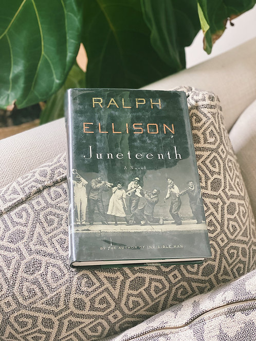 """Juneteenth: A Novel"" by Ralph Ellison Hard Cover First Edition"
