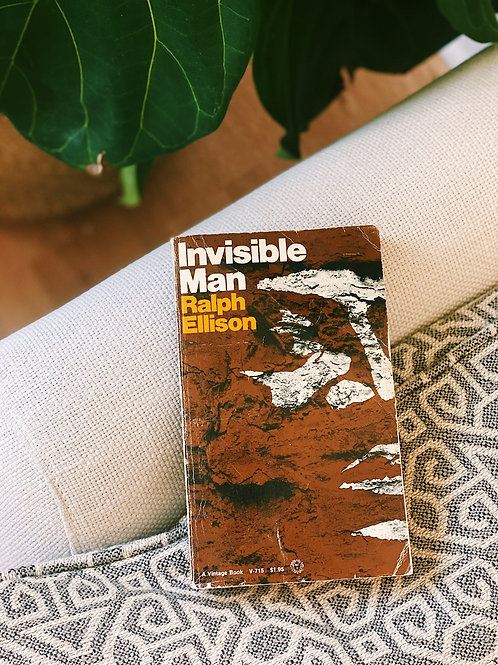 "Paperback ""Invisible Man"" by Ralph Ellison"