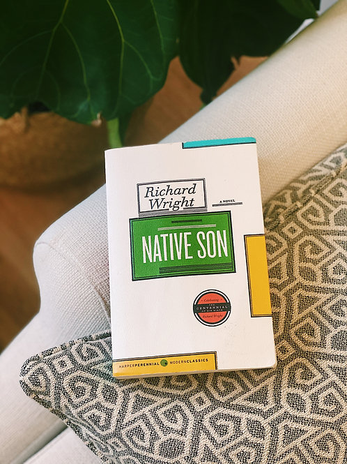"Soft Cover ""Native Son"" by Richard Wright"