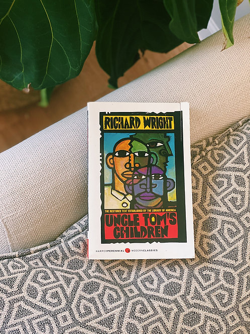 Paperback Uncle Tom's Children by Richard Wright