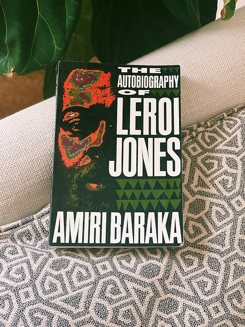 """The Autobiography of Leroi Jones"" by Amiri Baraka (Soft Cover)"