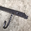 Thumbnail: Hand Forged Iron Bear 3 Hook Wall Mounted Coat or Hat Hooks