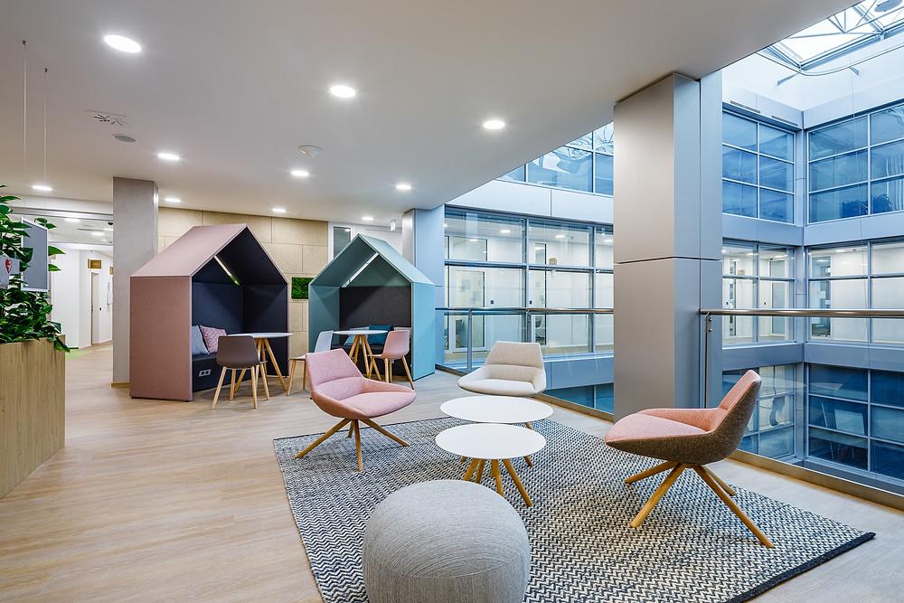 T-Mobile offices built by CAPEXUS