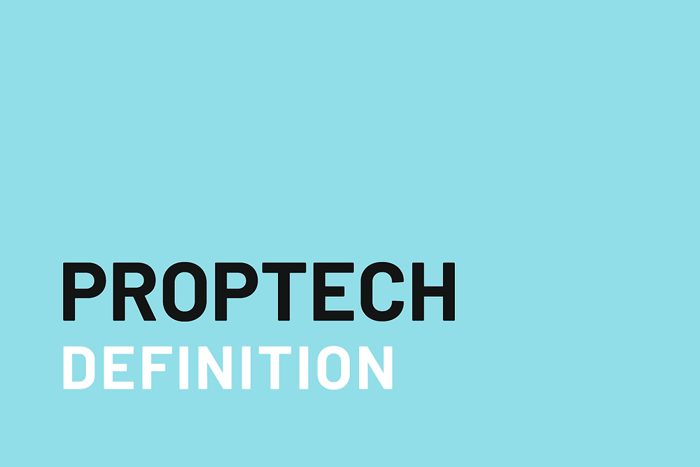 What does proptech mean?