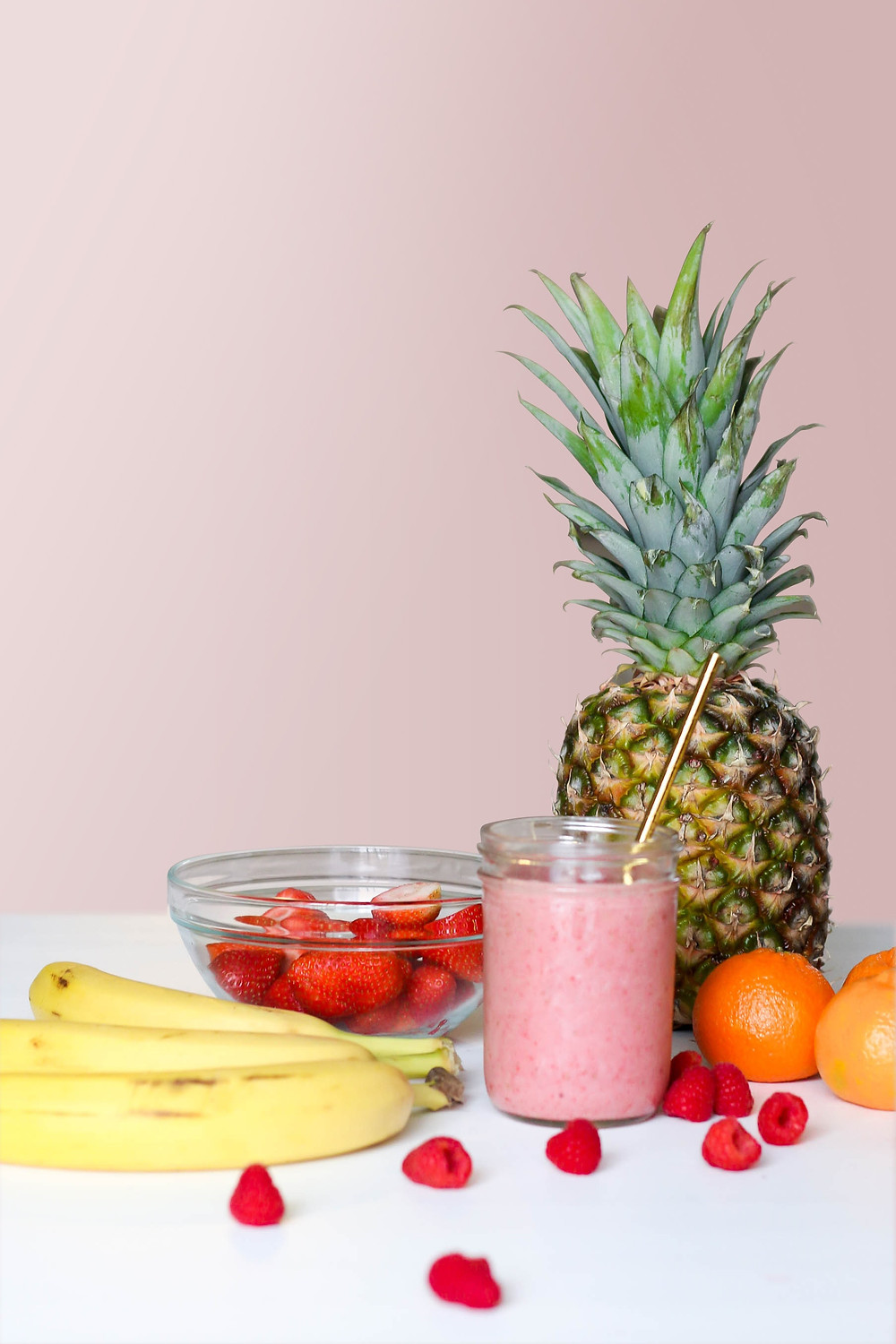 A variety of healthy foods on a table