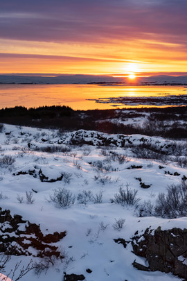 Thingvellir Sunset