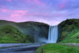 Skogafoss Sunset