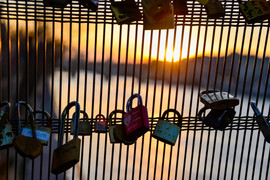 Love Lock Sunrise