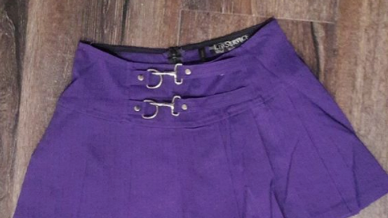 Gangster Prankster Purple Skirt
