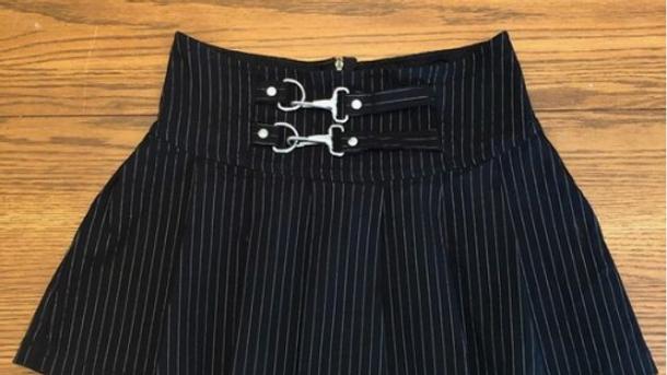 Gangster Prankster Grey Skirt