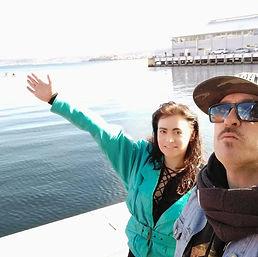 Melissa-Jayne with Major Delay on the Sprit of Tasmania