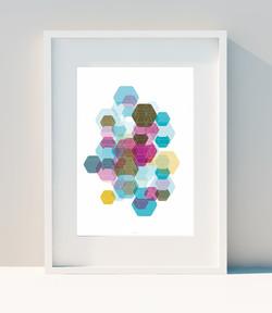 Hexagon & Game Colors II