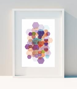 Hexagon & Game Colors III