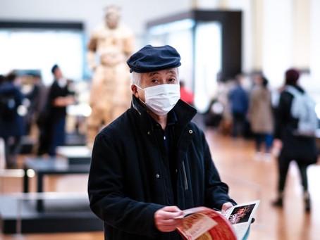 Le port du masque obligatoire dans les lieux publics clos en France