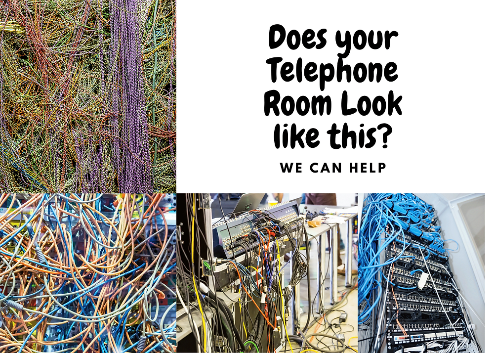 Data Cable Mess