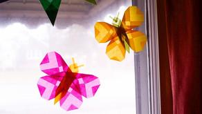 Paper Craft: Magical Window Butterflies