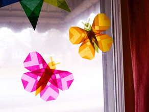 Paper Craft: Magical Window Butterflies