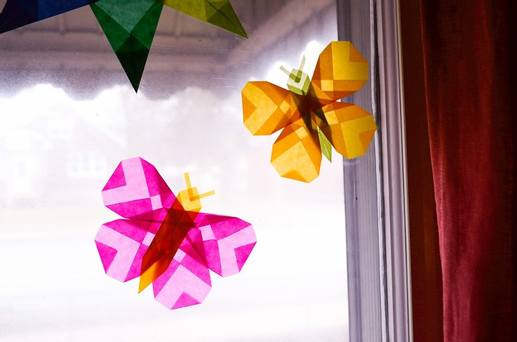 Kite Paper Butterfly