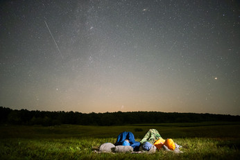 Meteor Shower + Camping = Priceless