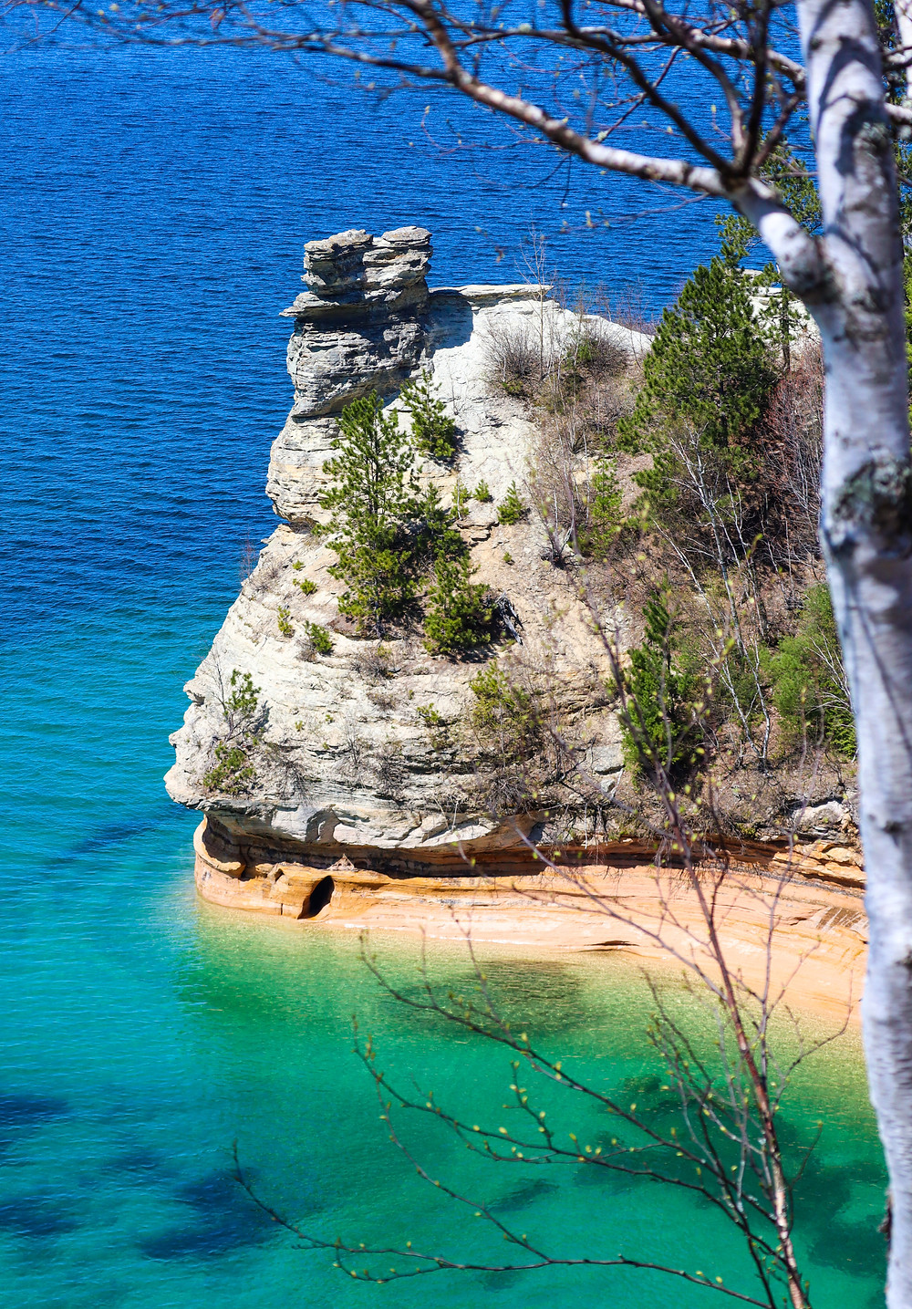 Overlook of Pictured Rocks