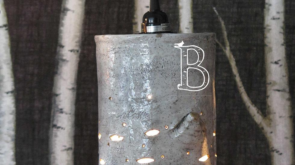 Birch Lantern Shade - Large