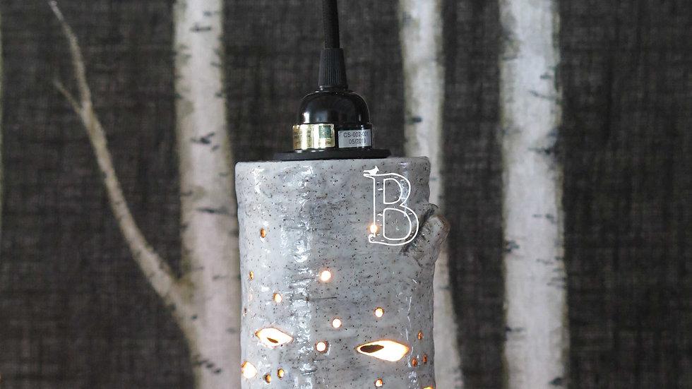 Birch Lantern Shade - Small