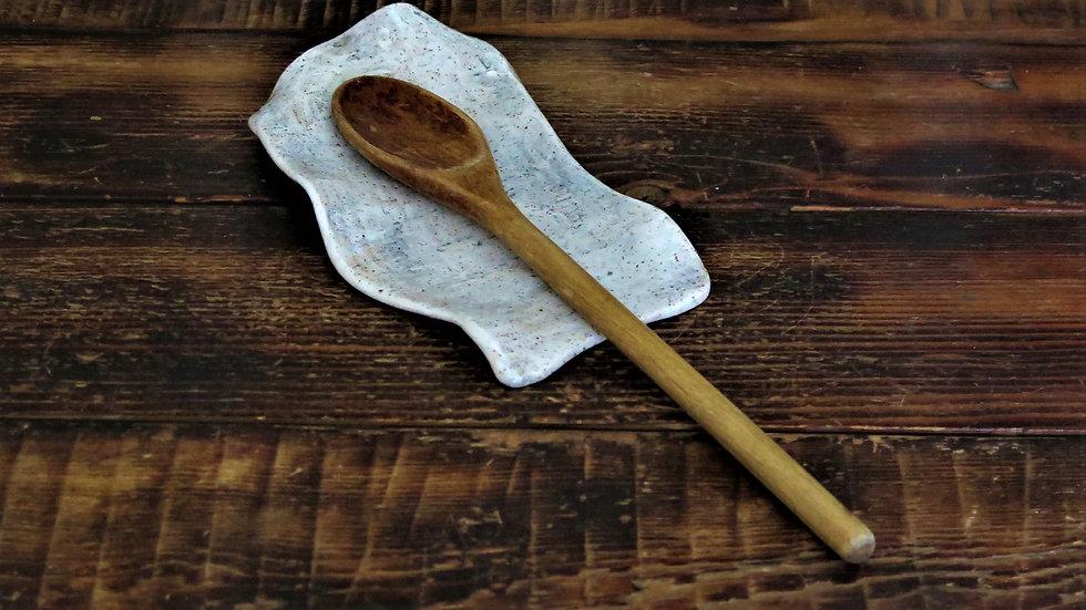 Birch ware spoon rest