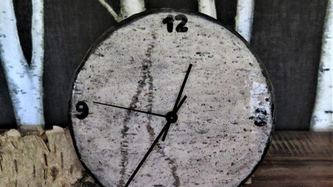 "Birch 9 1/4"" Clock"