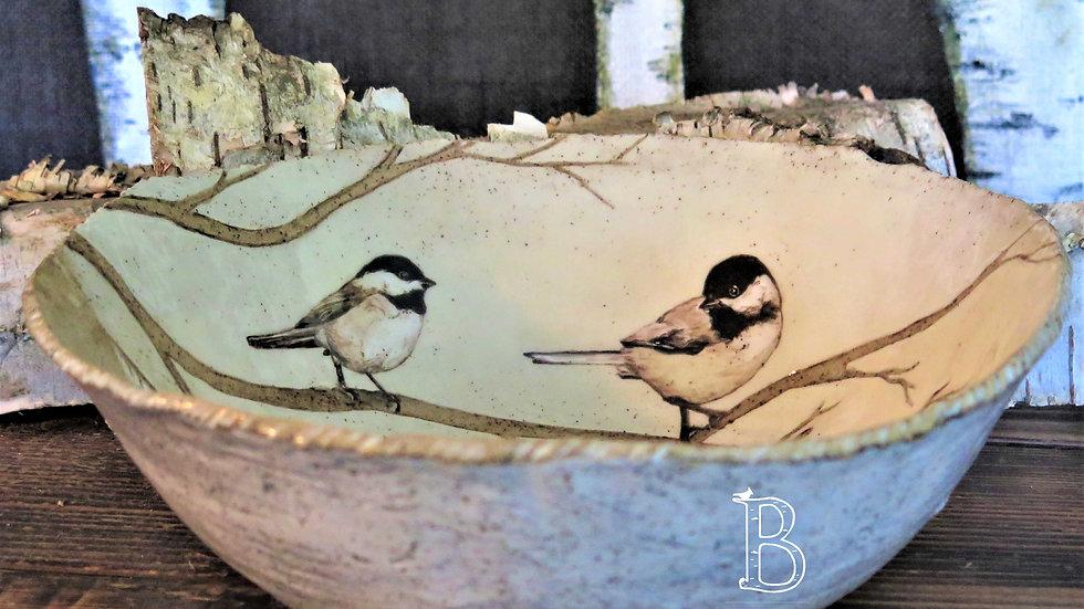 Chickadee Friends Bowl