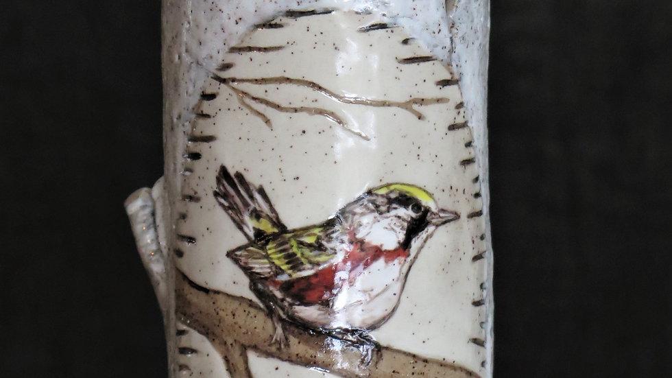 Chestnut Sided Warbler Vase R