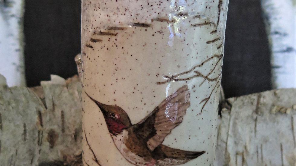 Humming Bird Vase