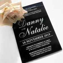 Danny & Natalie Wedding Invitation