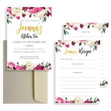 Invitation & Recipe Card