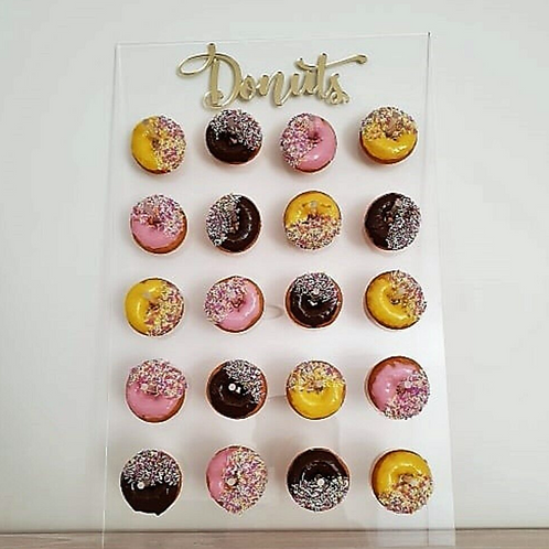 Acrylic Clear Donut Stand